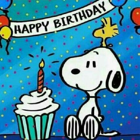 Image result for snoopy happy birthday images   Peanuts