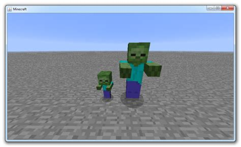 """Zombies """"turn"""" villagers/baby villager """"turned"""" image"""