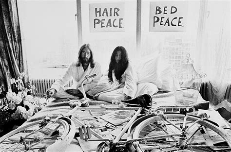 Today is the anniversary of John Lennon and Yoko Ono's Bed