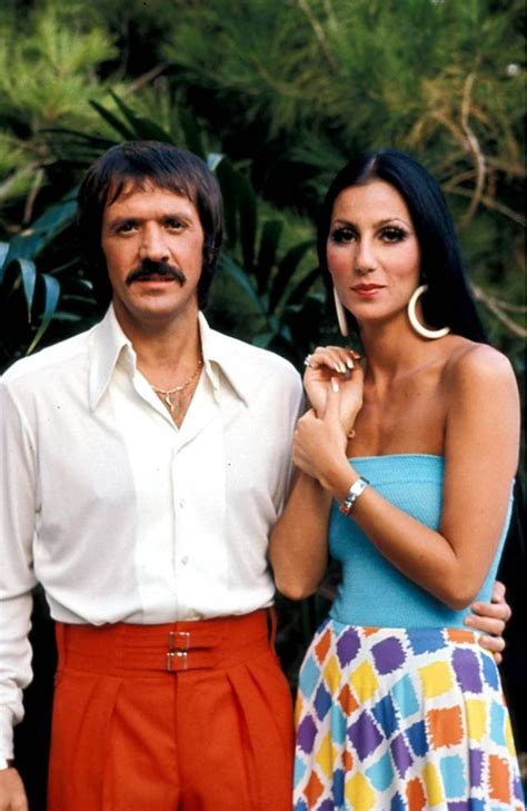 25 Wonderful Color Photographs of Sonny Bono and Cher From
