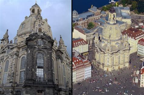 The Remarkable Dresden Church Rises From Ashes of WWII Bombing