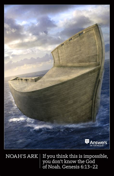Noah's Ark Poster (Poster)   Answers in Genesis