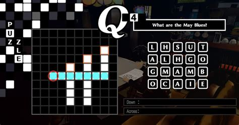 'Persona 5 Royal' crossword puzzle answers: All 34