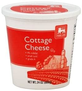 Food Lion Small Curd Cottage Cheese - 24 oz, Nutrition