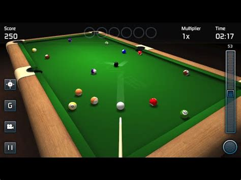 3D Pool Game - iPhone & Android Official Gameplay - YouTube