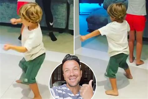 Peter Andre posts adorable video of wife Emily dancing