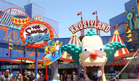 The Simpsons Theme Park Planned In Universal Studios
