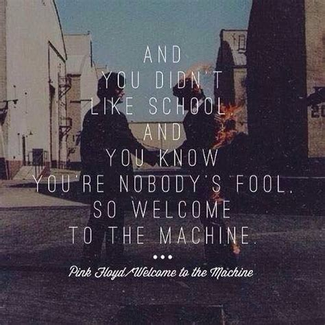 Welcome to the Machine lyrics by Pink Floyd | Pink Floyd