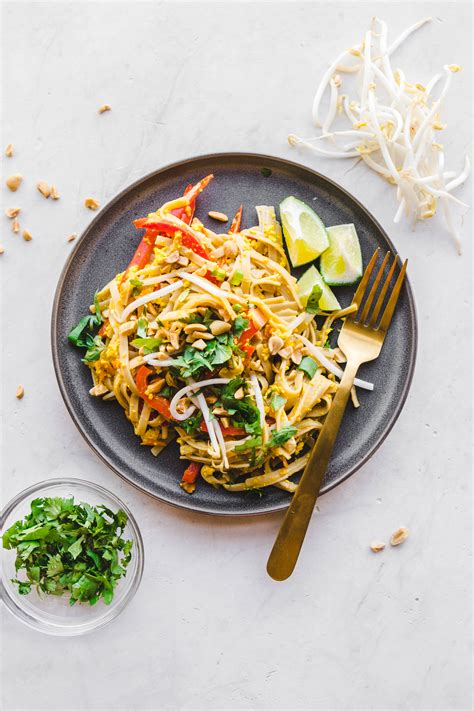 Easy Vegan Pad Thai (in 30 Minutes!) - From My Bowl