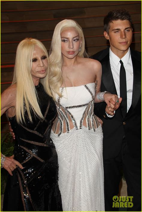 Donatella Versace Had the Hottest Arm Candy at Oscars