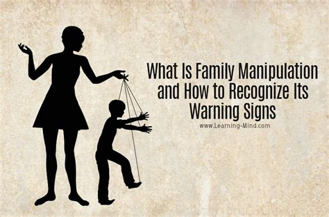 What Is Family Manipulation and How to Recognize Its
