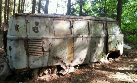 Forest Find: VW Type 2 Bus