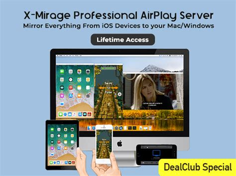 X-Mirage PRO Airplay Server For Mac & Windows For Lifetime