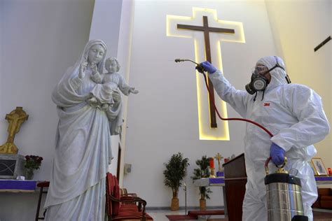 IRAQ Bishop of Baghdad, Easter and coronavirus: in empty