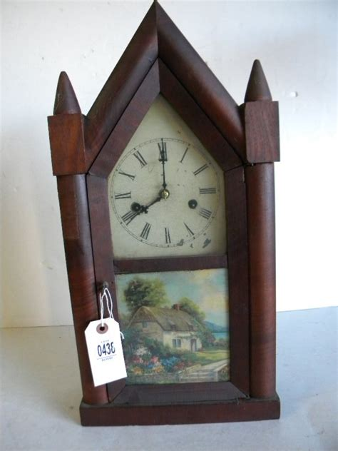 New Haven Gothic Parlor Steeple Mantle Clock Price Guide
