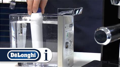 How to Use the Water Filter in Your De'longhi Coffee Care