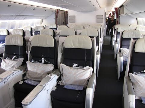 Dirty Bird: Air France (777) in Economy in a Duo Seat From
