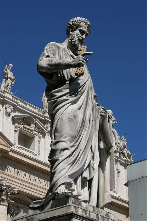 Saint Peter's Square in the State of the Vatican City