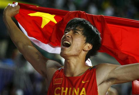 Liu Xiang, First Chinese Athlete To Win Olympic Gold