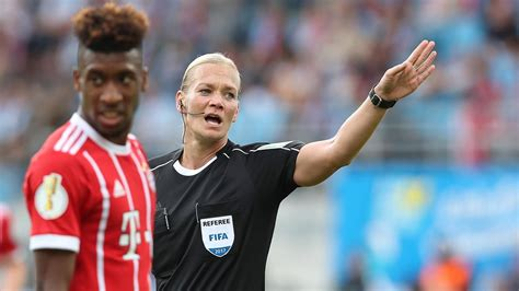 Bibiana Steinhaus to become first woman to referee a