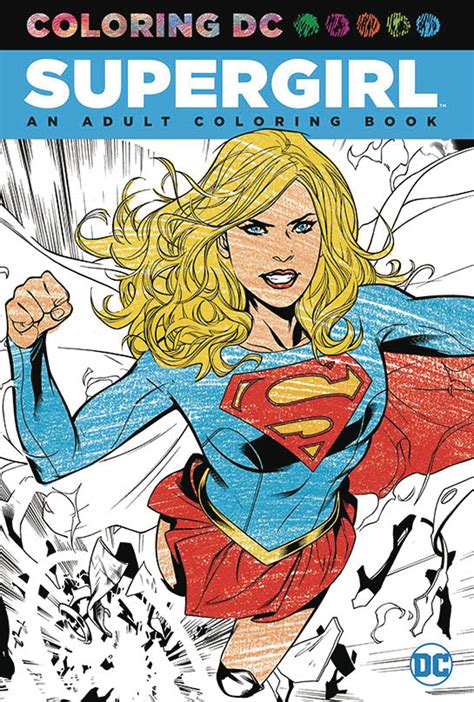 PREVIEWSworld - COLORING DC SUPERGIRL TP