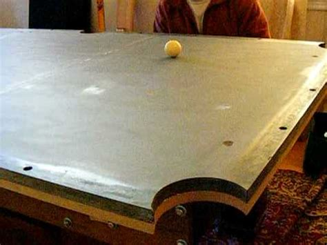 Pool table installation part 2 Leveling the slate