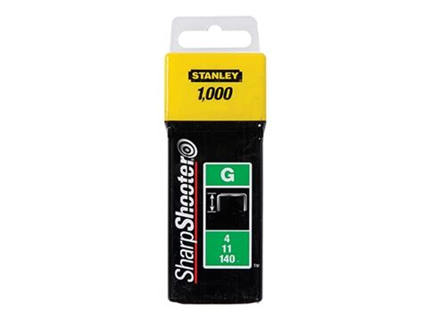 Stanley TRA7 Heavy Duty Staples - 10mm - Pack 1000