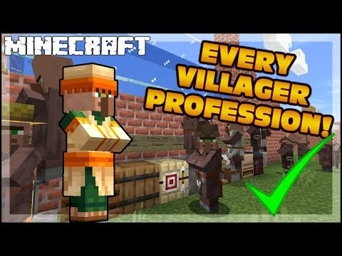 How To Trade And Exchanges With The Villagers In Minecraft