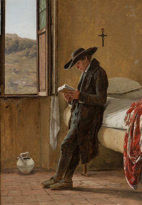 Young Clergyman Reading | The Art Institute of Chicago