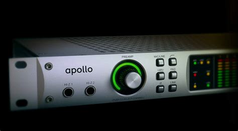 Apollo Audio Interface with Realtime UAD Processing and