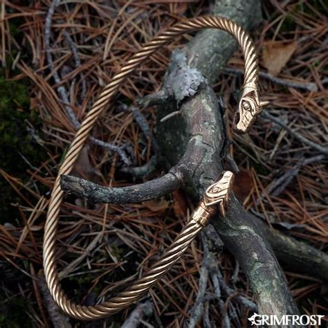 A wholly handmade, twisted Viking torc in solid bronze