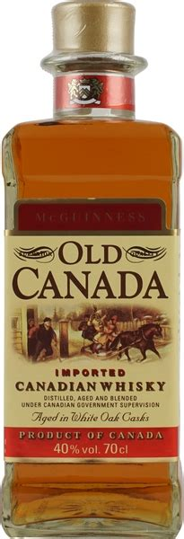 Old Canada McGuiness Canadian Rye Whisky 0,7 L 40 % Vol im
