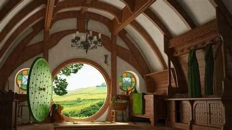The Lord Of The Rings, Bag End Wallpapers HD / Desktop and