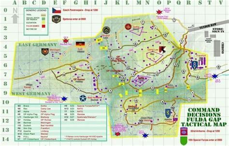 The OFFICIAL FULDA GAP AIRSOFT MAP is now avail