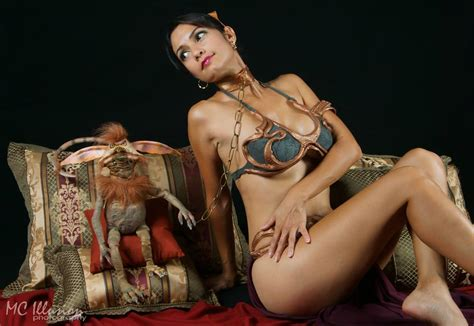 Ivy Cosplay as Slave Leia! - Needless Essentials