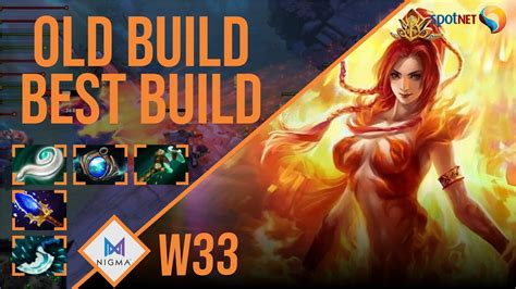 w33 - Lina | OLD BUILD BEST BUILD | Dota 2 Pro Players