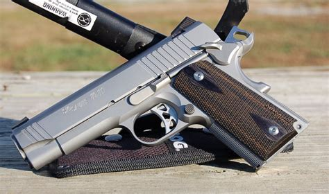 Gun Review: Sig Sauer Traditional 1911 Compact - The