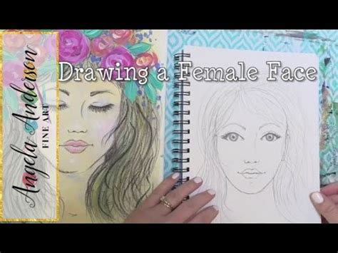 Draw a Female Face | Simple Tips for Drawing Facial