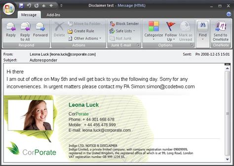 Microsoft office email signature templates | Email