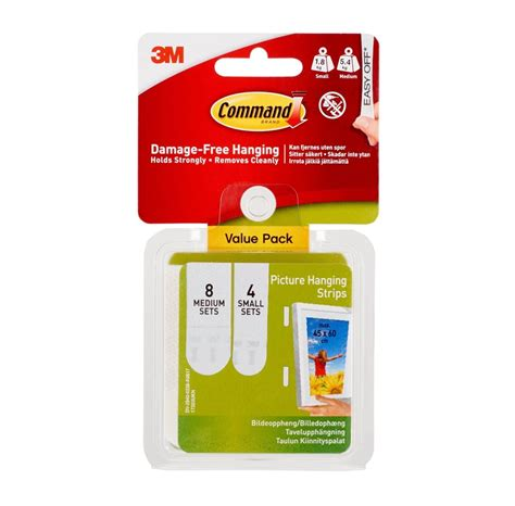 3M Command Picture Hanging Strips   Billig