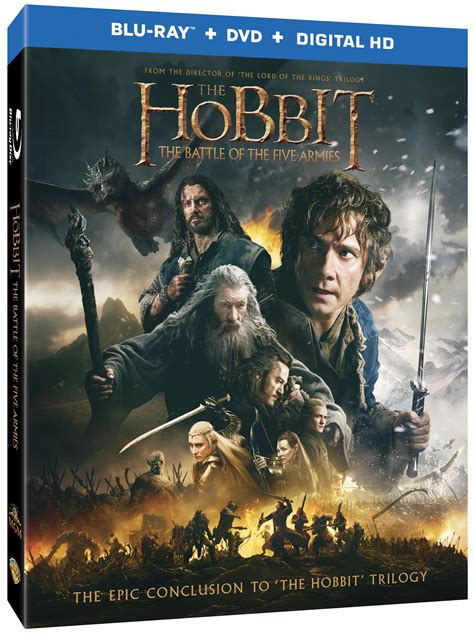 The Hobbit: The Battle of the Five Armies DVD/Blu-ray