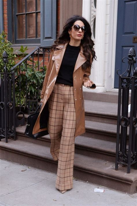 Amal Clooney Is the Epitome of Boss Babe in '70s Chic