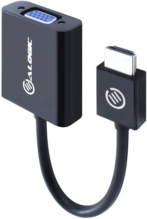 ALOGIC HDMI to VGA Adapter with 3