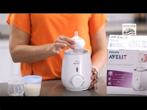 How does the AVENT bottle and food Warmer work | Philips