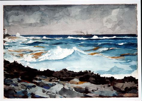 Winslow Homer | Shore and Surf, Nassau | American | The