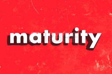 What does maturity mean to you? - Latest Nigeria News
