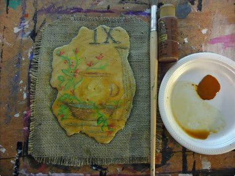 that artist woman: How to Make Plaster Frescoes