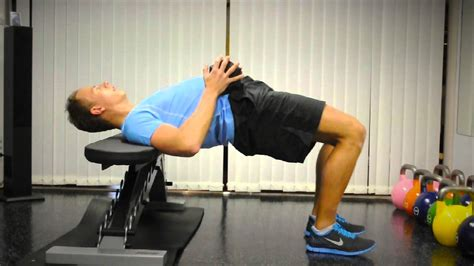 Exercise Index: Hip-Thrust with Dumbbell - YouTube